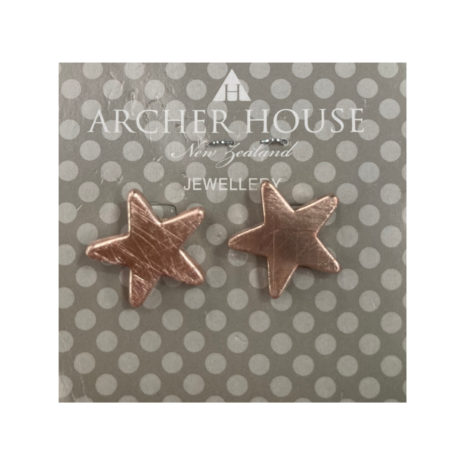 Acher Star Stud Earrings