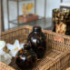 Lemonde Tortishell Squat Bud Vase (1)